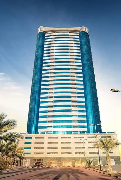 2 Bedroom Apartment for Rent in Sheikh Maktoum Bin Rashid Street, Ajman - Brand New 2 Bhk 4 Rent in Conqueror Tower 43k