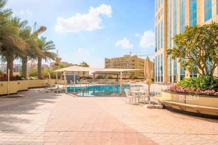 فلیٹ 2 غرفة نوم للبيع في واحة دبي للسيليكون، دبي - شقة في أبراج القصر 2 أبراج القصر واحة دبي للسيليكون 2 غرف 510000 درهم - 5015345
