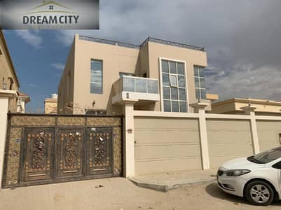 For sale, a new villa, the first inhabitant, with a distinctive Arabic design, without down payment, close to the neighboring street behind Nesto, a very large area