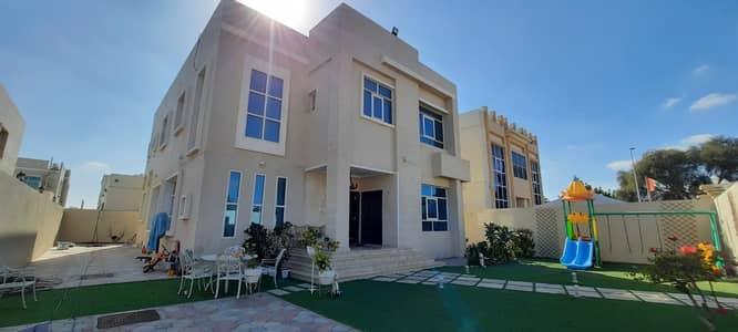 5 Bedroom Villa for Rent in Al Hamidiyah, Ajman - Hot Deal 5-Bedroom Villa for rent | Split AC | 5 master rooms | 2 Kitchens +2 hall | On main Road in Al Hamidiya Ajman