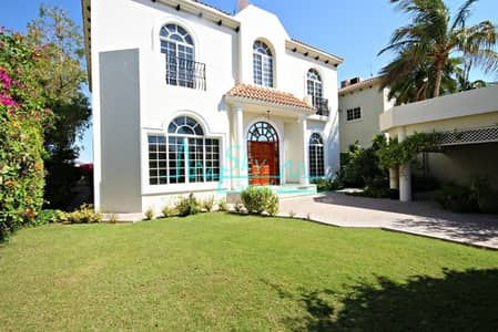 4 Bedroom Villa for Rent in Jumeirah, Dubai - Beautiful 4 Bed+Study Villa With A Private Garden