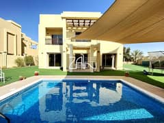 Spacious 5 BR Villa on Large Plot 14,737 with Pool