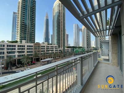 1 Bedroom Apartment for Rent in Downtown Dubai, Dubai - Beautiful boulevard views Standpoint downtown