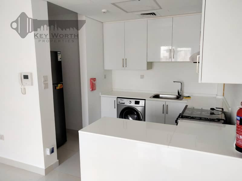 2 Near Metro Chiller free One Bedroom Hall  with furnished Kitchen