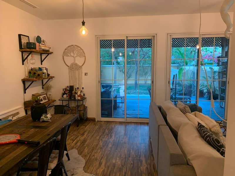 2 UPGRADED 1bedroom townhouse CONVERTED to a 2 bedroom + Maid!