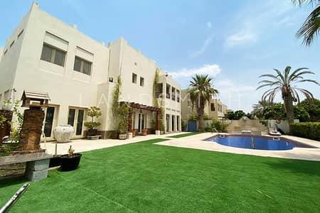 4 Bedroom Villa for Sale in The Meadows, Dubai - Full Lake view Upgraded 4BR Hattan E2 Villa