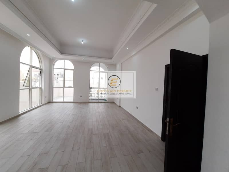 12 Brand new amazing finishing studio for rent in MBZ