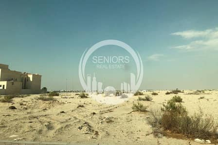 Plot for Sale in Zayed City (Khalifa City C), Abu Dhabi - Huge Residential land with a low price!