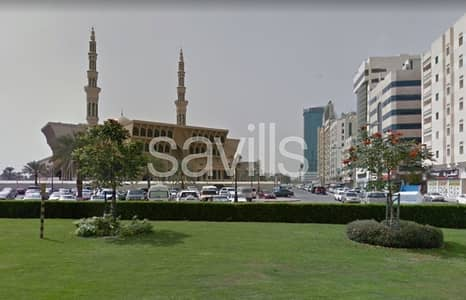 Mixed Use Land for Sale in Al Qasimia, Sharjah - Mix use land behind King Faisal Mosque