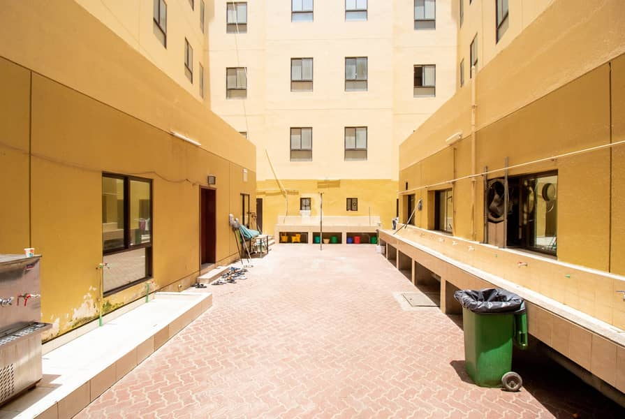 2 AED 1800/ROOM for 6 people  Best priced !!!|Labour Camp|DIP-2