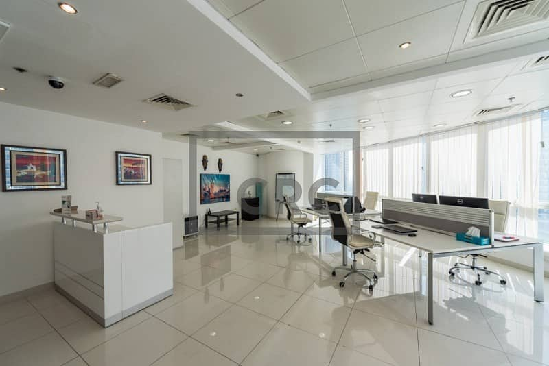 Fitted Office  Furnished   Near the Metro