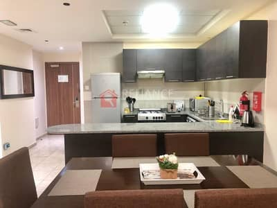2 Bedroom Apartment for Rent in Jumeirah Village Triangle (JVT), Dubai - Good Sized 2Bedroom | With Balcony | Fully Furnished