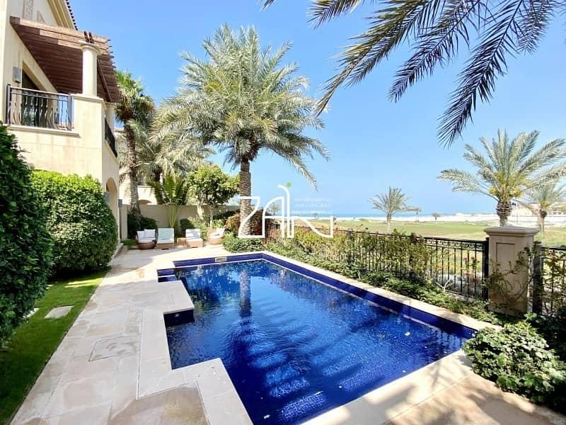 2 Golf/Sea View 4 BR with Pool Prestigious Location