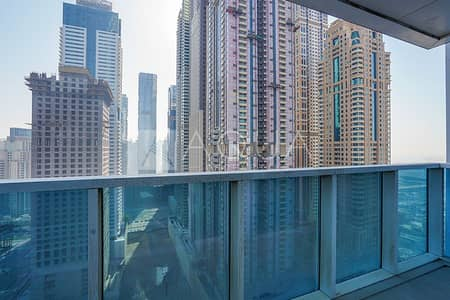 2 Bedroom Flat for Rent in Dubai Marina, Dubai - Chiller Free | Storage room | Unfurnished