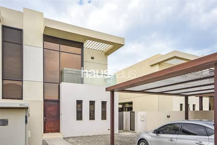 3 Bedroom Townhouse for Rent in DAMAC Hills (Akoya by DAMAC), Dubai - 3 BR + M   Largest plot in Topanga   Unfurnished
