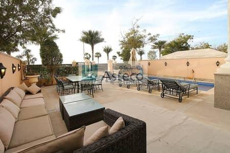 شقة 4 غرف نوم للبيع في نخلة جميرا، دبي - Private Pool | Sea View | Duplex Fully Furnished