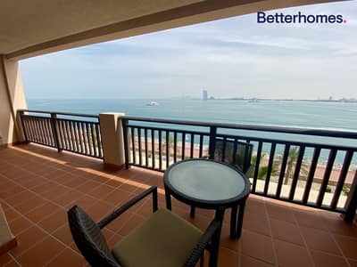 1 Bedroom Flat for Rent in Palm Jumeirah, Dubai - Burj views | New floor | Keys with me | View today