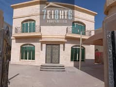 Outstanding property:  4 b/r good quality independent villa + maids room + large garden for rent in Umm Al Sheif