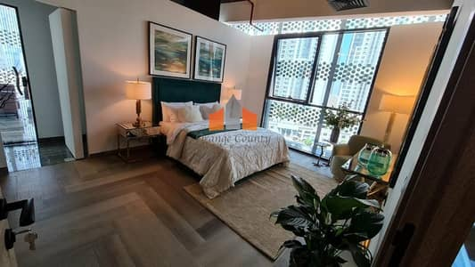 2 Bedroom Apartment for Sale in Arjan, Dubai - Pool View| Fully Furnished kitchen| Payment plan option available.