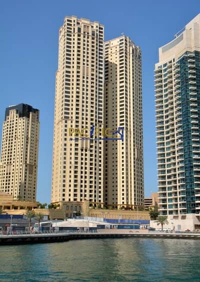 2 Bedroom Flat for Sale in Jumeirah Beach Residence (JBR), Dubai - Rented | Direct Beach and JBR Walk  | Marina View