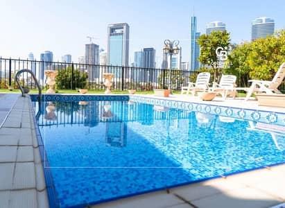 فیلا 5 غرف نوم للبيع في جزر جميرا، دبي - Full Skyline and Lake View| Owner Occupied