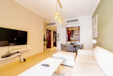 شقة 1 غرفة نوم للايجار في المدينة القديمة، دبي - With 360 Video Tour | Fully Furnished 1 Bedroom with balcony