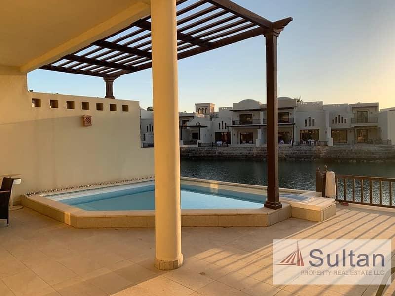 2 Luxury Cove Rotana 2 Bed Sea View Private Pool