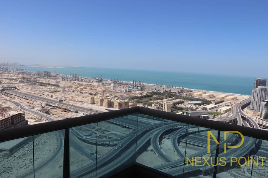 Sea/Lake View|High Floor|High ROI|Ready to Move in