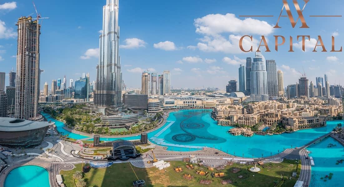Burj Khalifa & Fountain View | Vacant & Ready