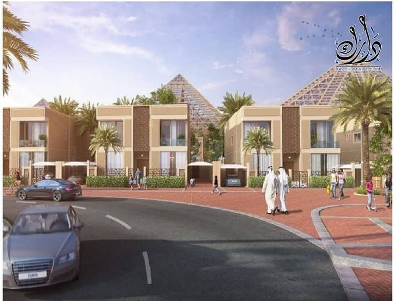 2 Villas for sale on Mohamed bin Zaid . A special offer for local people