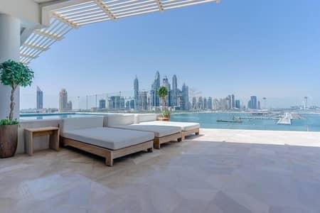 فلیٹ 4 غرف نوم للبيع في نخلة جميرا، دبي - High  floor |  Skyline view  |  4 Bed Apartment