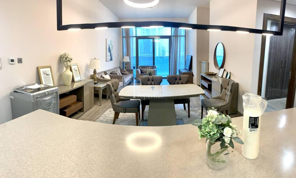 2 Lake View | Luxury Brand new 2 BR + Maids | Close to Metro