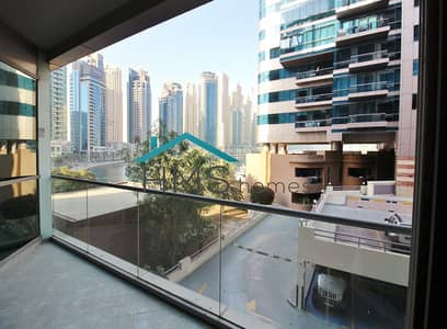 فلیٹ 1 غرفة نوم للايجار في دبي مارينا، دبي - Furnished 1BR Tower B Marina Views