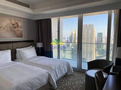شقة 4 غرف نوم للبيع في وسط مدينة دبي، دبي - Well Maintained   Burj Khalifa View   High Floor