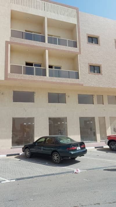 1 Bedroom Building for Rent in Al Jurf, Ajman - For rent in Ajman, a new building, the first inhabitant of Industrial Jurf 3