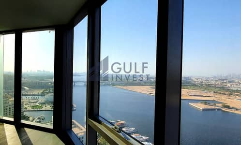 3 Bedroom Apartment for Rent in Bur Dubai, Dubai - Panoramic Beautiful Canal View from High Floor in D1