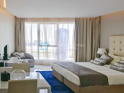 Studio for Rent in Business Bay, Dubai - Furnished Studio | Bright Unit | Equipped kitchen