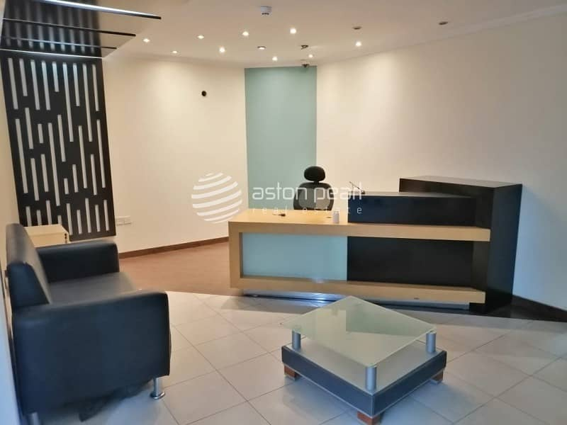 Furnished Office|15 Parking Available |Al Qouz 4