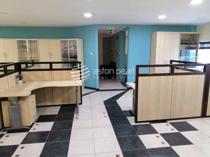 2 Furnished Office|15 Parking Available |Al Qouz 4
