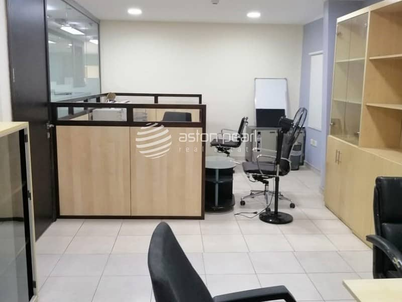 10 Furnished Office|15 Parking Available |Al Qouz 4