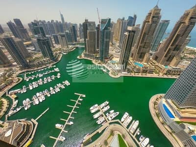 فلیٹ 1 غرفة نوم للبيع في دبي مارينا، دبي - Genuine listing |Best Priced|Panoramic Marina View
