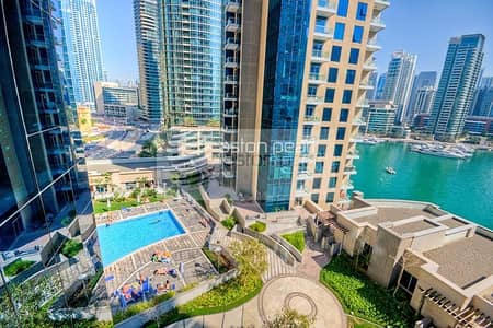 2 Bedroom Apartment for Sale in Dubai Marina, Dubai - 2 BR Fully Upgraded Ready To Move in Marina View