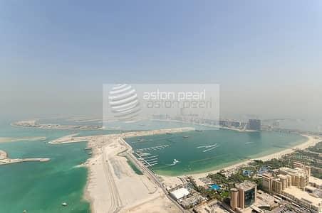 فلیٹ 3 غرف نوم للبيع في دبي مارينا، دبي - Spacious 3 BR with Balcony | Vacant Now | Sea View