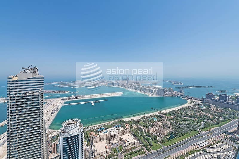 4 BR Duplex Penthouse w/ Full Sea and Marina View