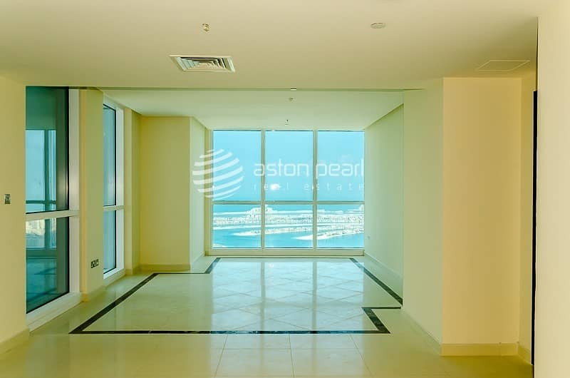10 4 BR Duplex Penthouse w/ Full Sea and Marina View