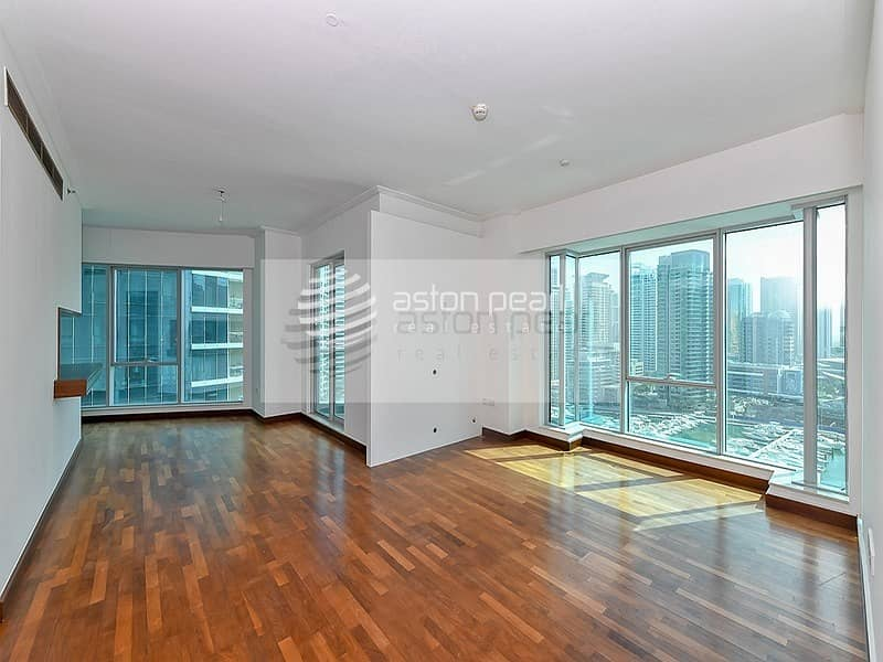 Exclusive 2 Bedroom Full Marina View  Vacant Soon