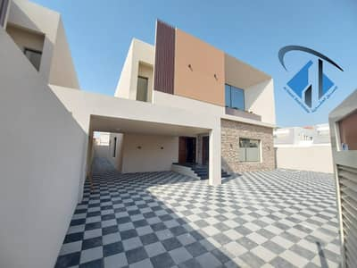 5 Bedroom Villa for Sale in Al Mowaihat, Ajman - For the owners of luxury and architectural sophistication, own a villa in Ajman with a modern design, owning a lifetime's home, without down payment and the longest payment period