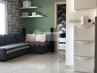 2 Bedroom Flat for Sale in Jumeirah Village Circle (JVC), Dubai - 2BR Upgraded  Apartment | Big Terrace |High Floor
