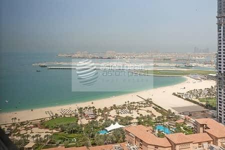 شقة 1 غرفة نوم للايجار في جميرا بيتش ريزيدنس، دبي - Sea View | Furnished 1B | Multiple Cheques Payment