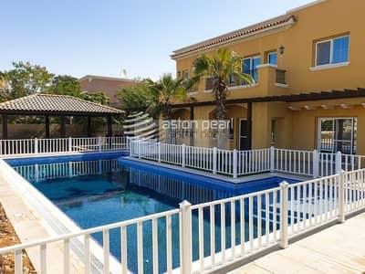 فیلا 6 غرف نوم للبيع في المرابع العربية، دبي - Available Now | Upgraded 6 BR | Golf Course View